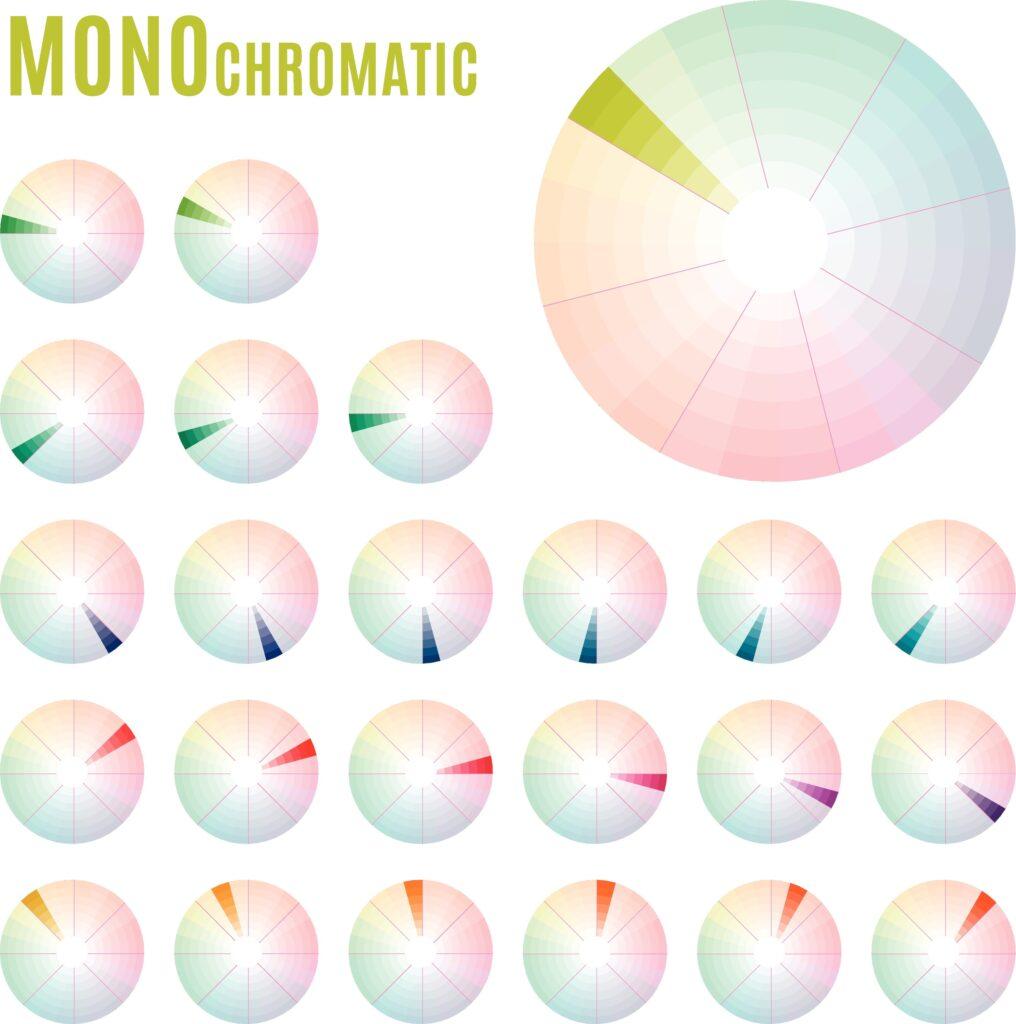 Monochromatic color names