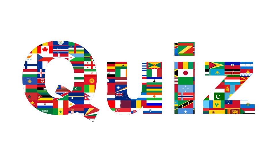 Quiz Flag colours test